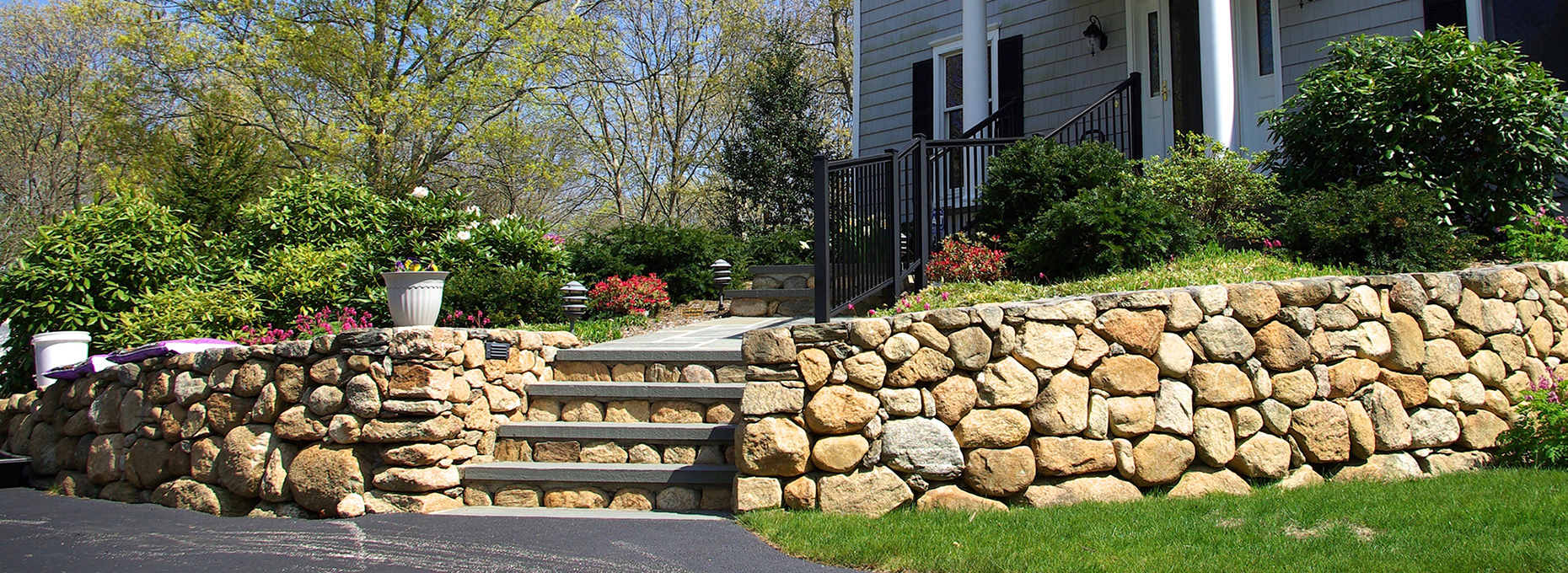 Fieldstone Steps